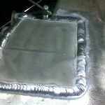 Сварка алюминиевого поддона двигателя Киев