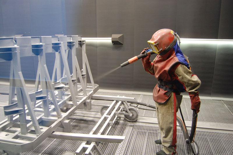 обработка металлоконструкций киев